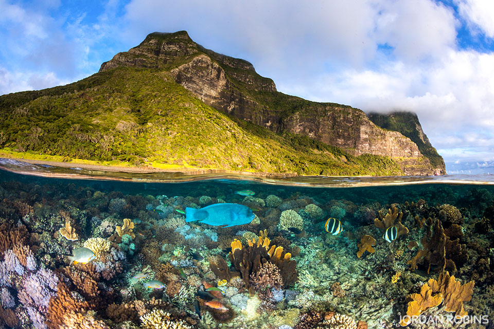 Mount Gower To The Sea Lord Howe Island Jordan Robins Photography
